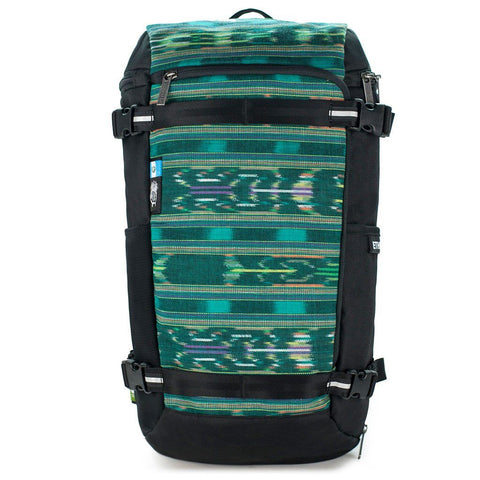 Ethnotek-premji-travel-daypack-guatemala4-teal-green-waterproof