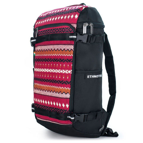 Ethnotek-premji-travel-daypack-india11-red-vegan