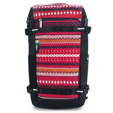 Ethnotek-premji-travel-daypack-india11-red-waterproof