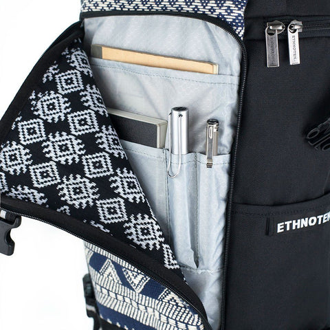 Ethnotek-premji-travel-daypack-india14-blue-and-white-fits-ipad