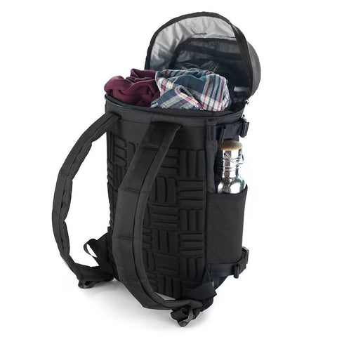 Ethnotek-premji-travel-daypack-india8-black-and-white-20-liter-backpack