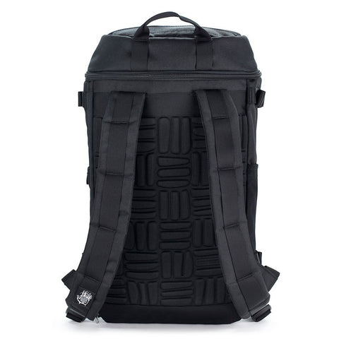 Ethnotek-premji-travel-daypack-india8-black-and-white-padded-shoulder-straps