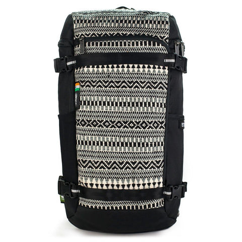 Ethnotek-premji-travel-daypack-india8-black-and-white-waterproof