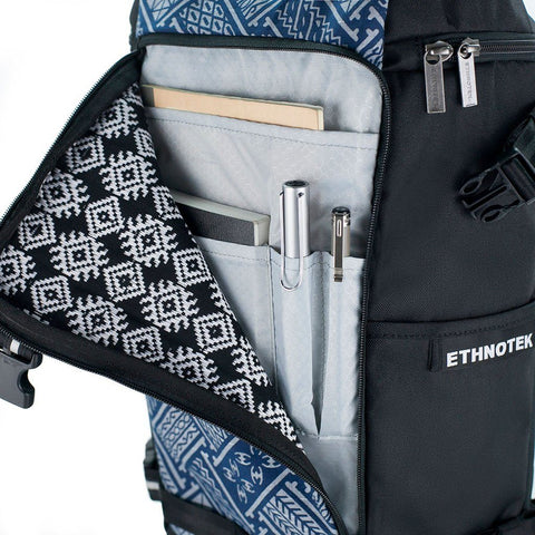 Ethnotek-premji-travel-daypack-indonesia6-blue-pattern-fits-ipad