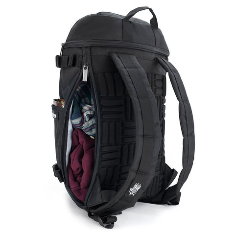 Ethnotek-premji-travel-daypack-indonesia6-blue-pattern-side-access-pocket