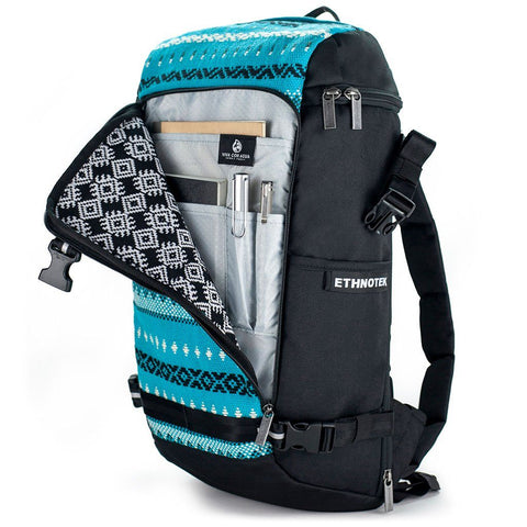 Ethnotek-premji-travel-daypack-vca-blue-organizer-pocketvca-blue