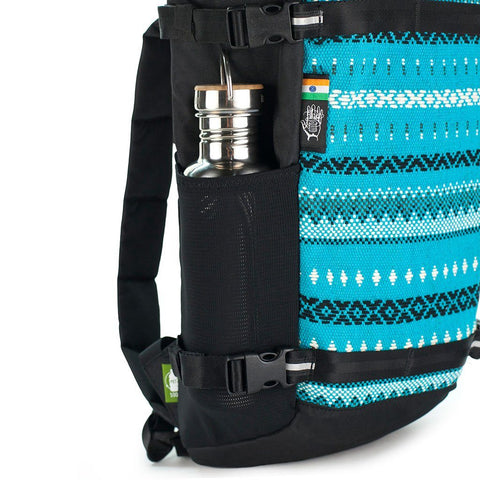 Ethnotek-premji-travel-daypack-vca-blue-water-bottle-pocketvca-blue