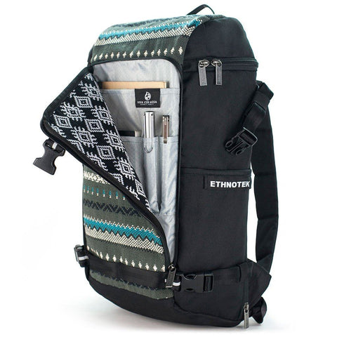 Ethnotek-premji-travel-daypack-vca-grey-organizer-pocketvca-gray