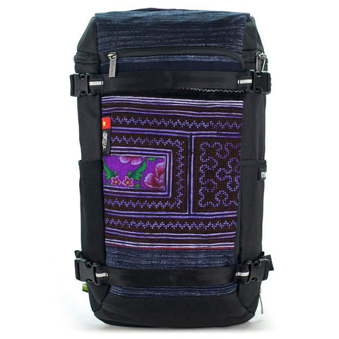 Ethnotek-premji-travel-daypack-vietnam5-navy-blue-waterproof