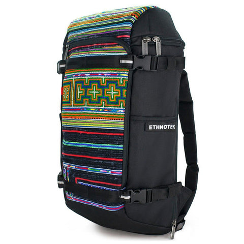 Ethnotek-premji-travel-daypack-vietnam6-blue-and-orange-vegan