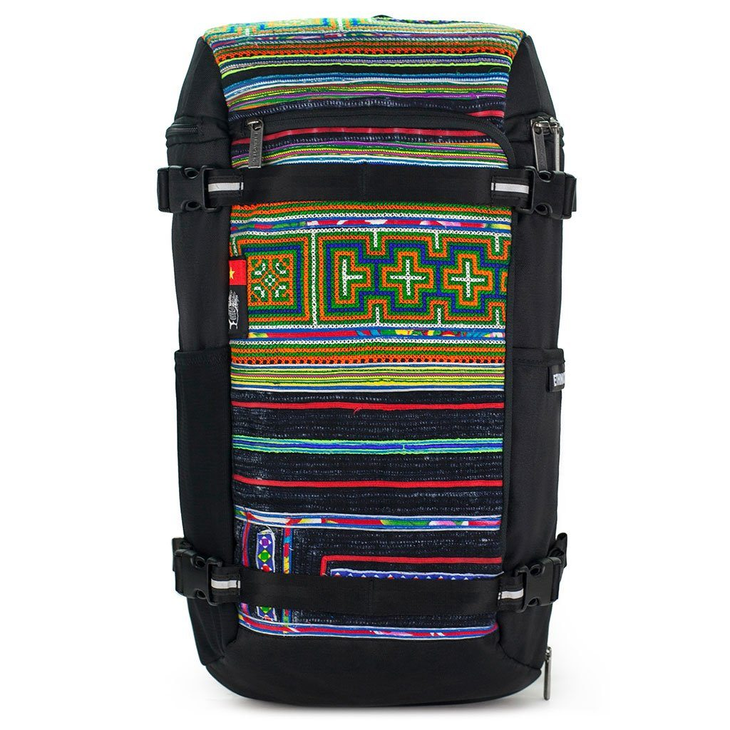 Ethnotek-premji-travel-daypack-vietnam6-blue-and-orange-waterproof - vietnam-6 hover-vietnam