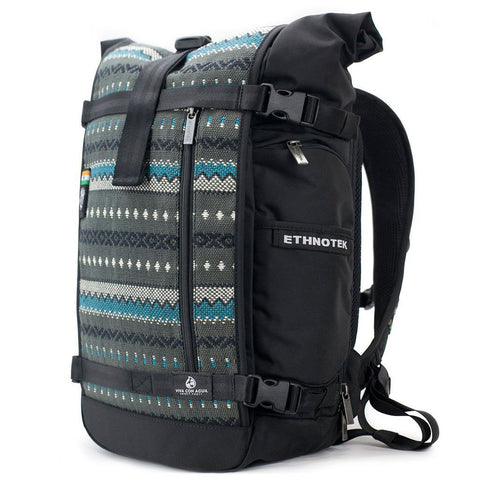 Ethnotek-raja-30-liter-backpack-charcoal-gray-waterproofvca-gray