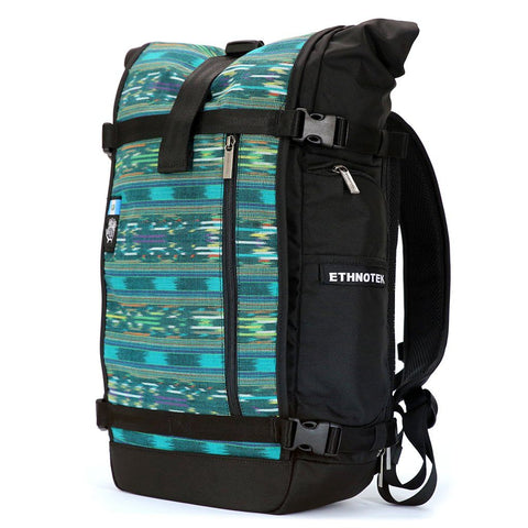 Ethnotek-raja-30-liter-backpack-guatemala4-teal-green-teal-green-waterproof