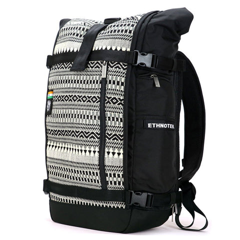 Ethnotek-raja-30-liter-backpack-india8-black-and-white-black-and-white-waterproof