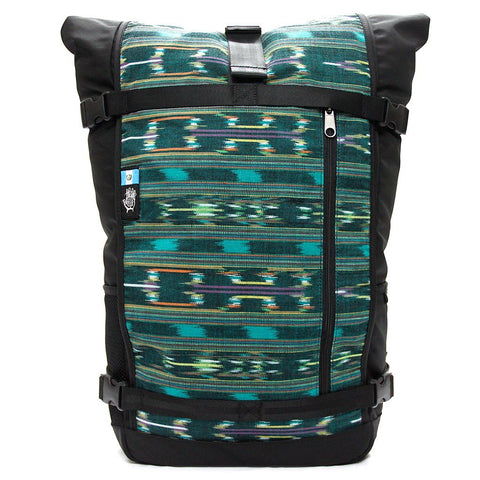 Ethnotek-raja-46-unique-travel-backpack-guatemala4-teal-green-teal-green