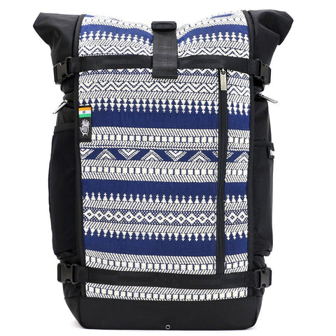 Ethnotek-raja-46-unique-travel-backpack-india14-blue-and-white-blue-and-white