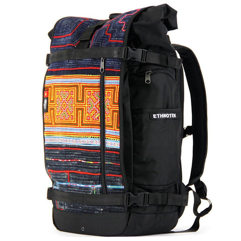 Ethnotek-raja-46-unique-travel-backpack-vietnam6-blue-and-orange-blue-and-orange-waterproof