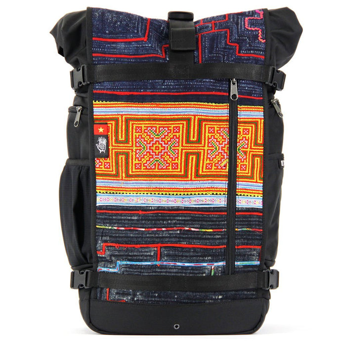 Ethnotek-raja-46-unique-travel-backpack-vietnam6-blue-and-orange-blue-and-orange - vietnam-6 hover-vietnam
