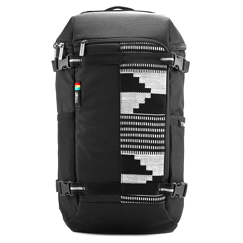 Ethnotek-premji-travel-daypack eco friendly backpack special edition ghana-kente