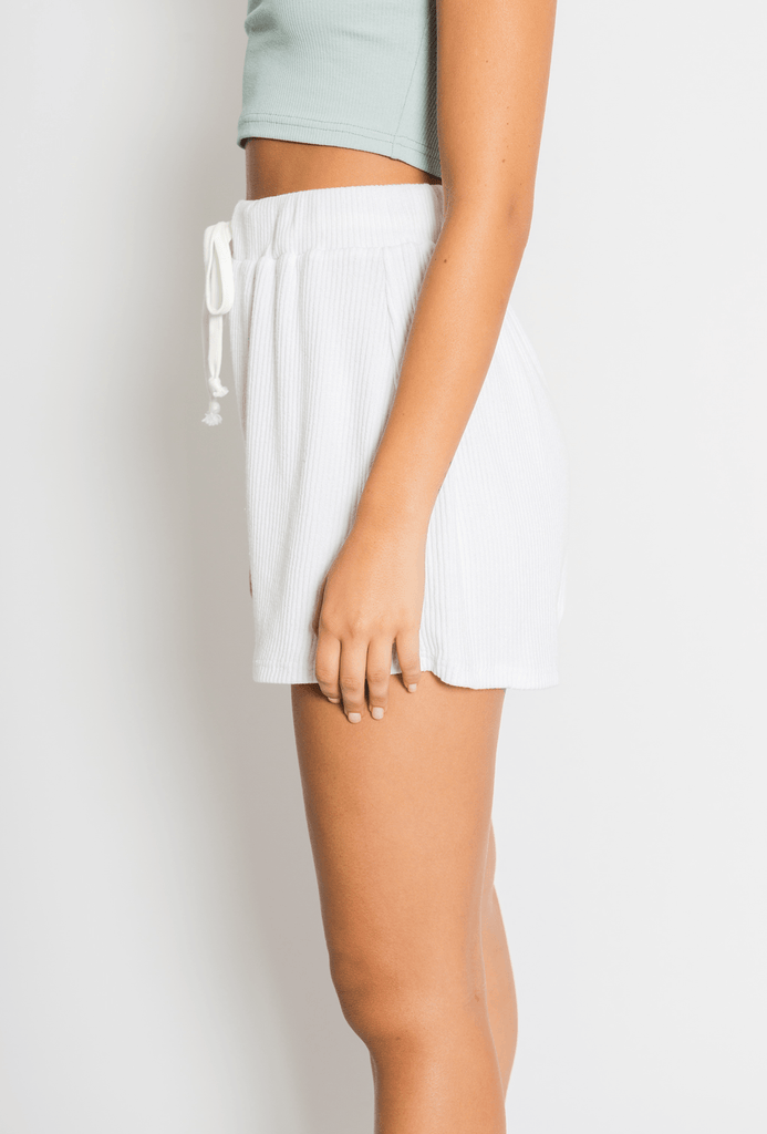 AVALON SHORTS // WHITE Shorts TOBY HEART GINGER