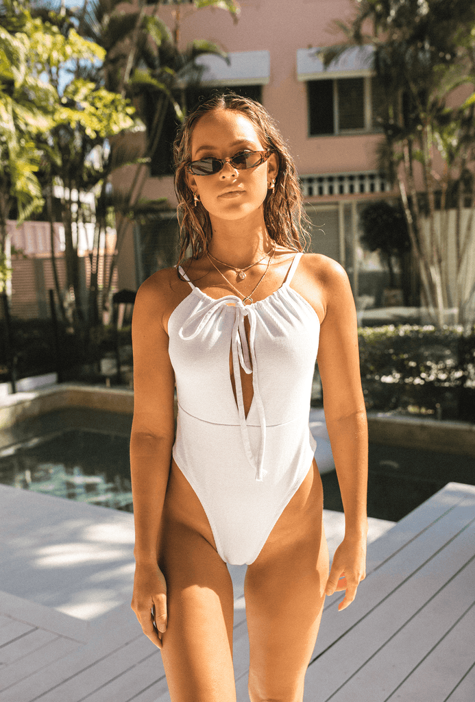 LONG BEACH ONE PIECE Swim TOBY HEART GINGER