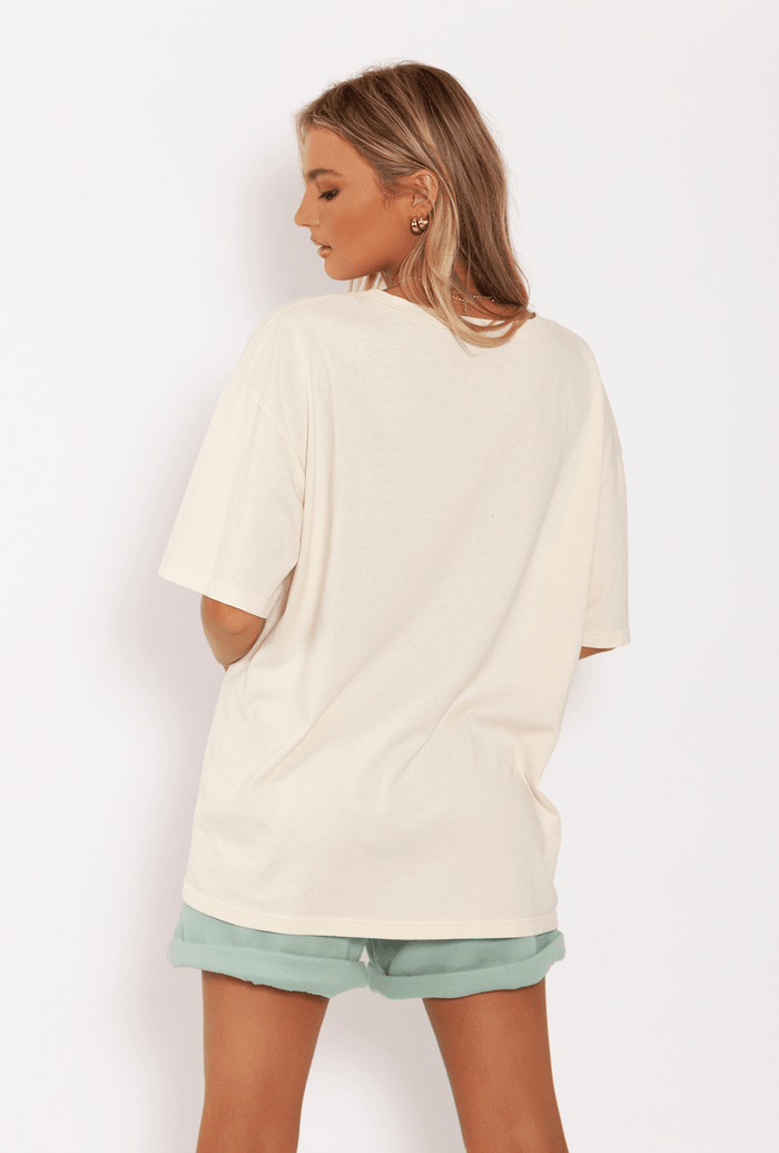 TOBY TEE // CREAM Tops TOBY HEART GINGER