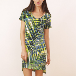 ALEXIS MERA DORCHESTER T-SHIRT DRESS RIO PALM