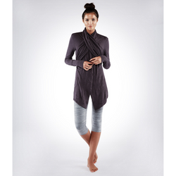 MANDUKA THE ARDHA WRAP - RAISIN
