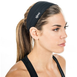 TONIC HEADBAND BLACK BOW SCRUNCH