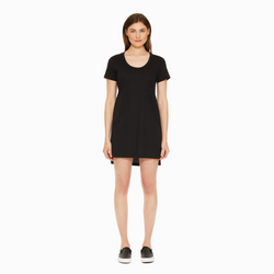 ALEXIS MERA TEE DRESS - BLACK