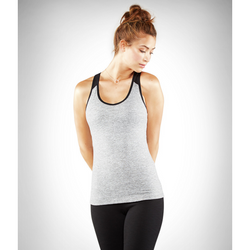 MANDUKA Y BACK CAMI - SEDIMENT HEATHER