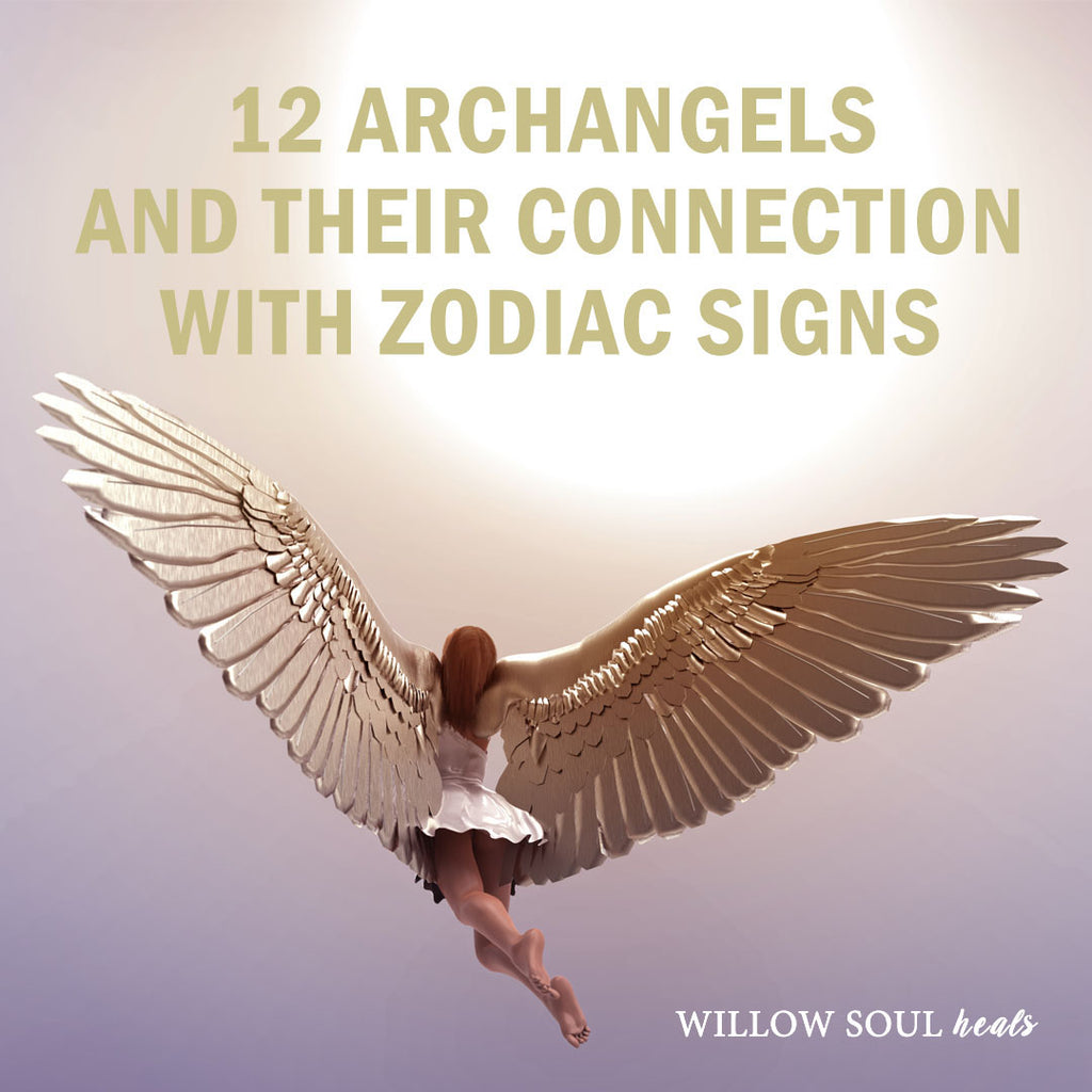 12 Archangels: Names, Meanings, and Zodiac Signs – Archangel Chart With Names and Birth Dates
