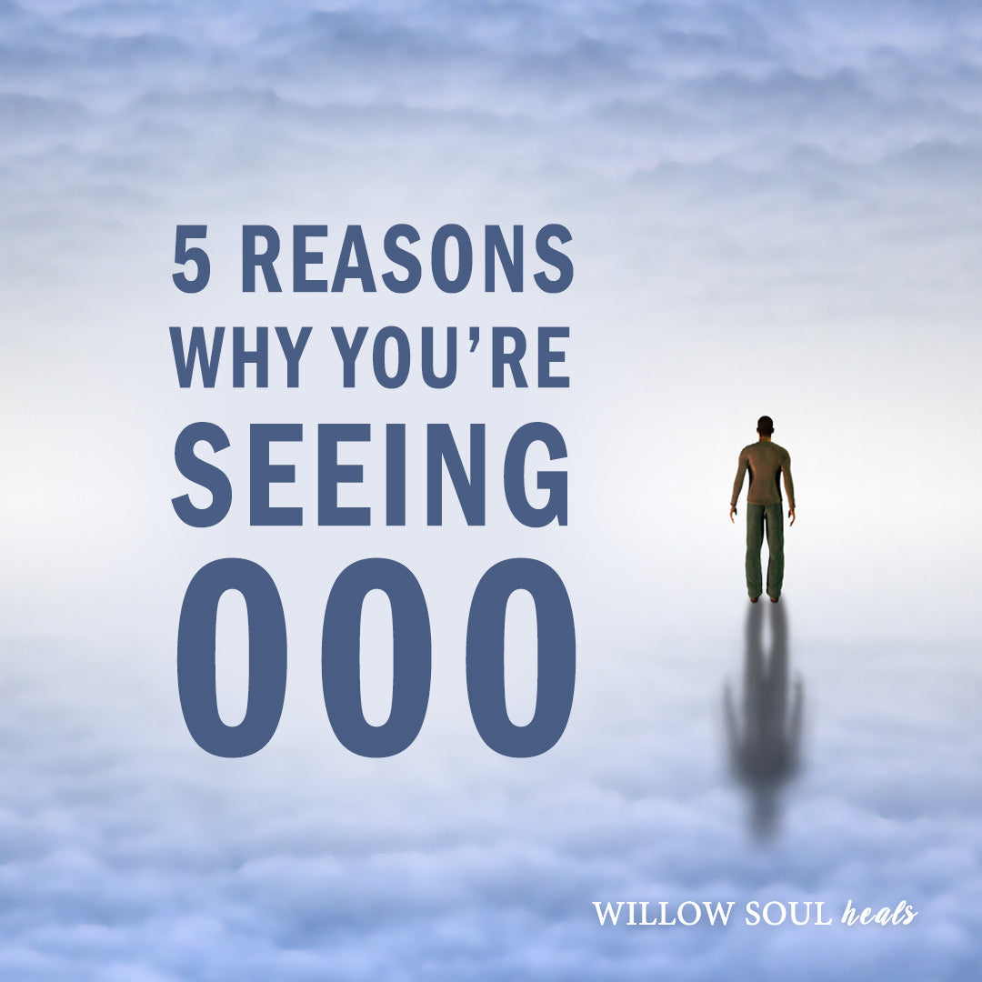 5 Reasons Why You Are Seeing 000 The Meaning Of 000 Willow Soul