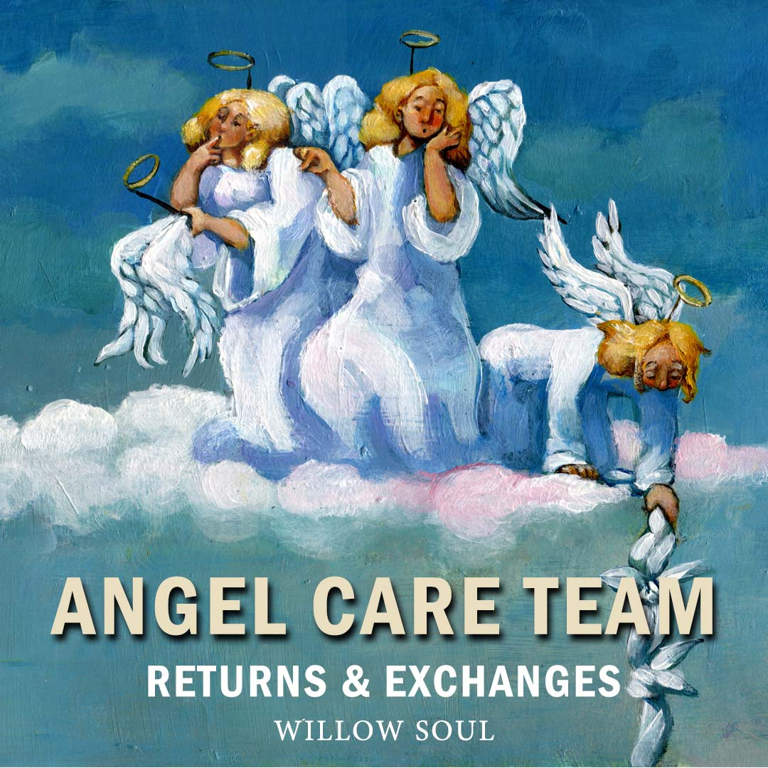Contact Willow Soul's Angel Care Team for Returns and Exchanges