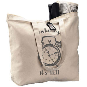11:11 Wake-Up Tote Bag