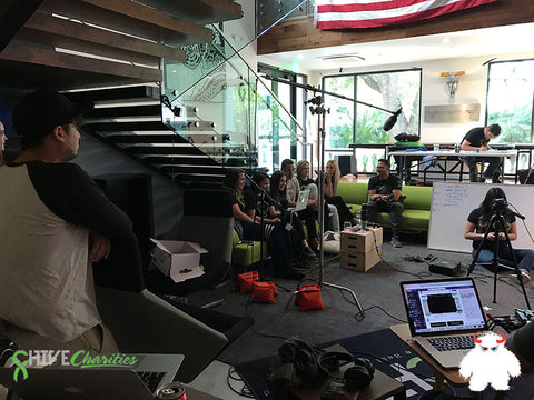 The Chive Gaming Super Hero Dream Stream - Chive Charities Skype Call