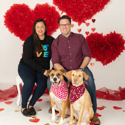 Tara, Larry & Frank: The Story of 2 Rescue Pups Who Inspired Their Owner To Start Her Own Nonprofit