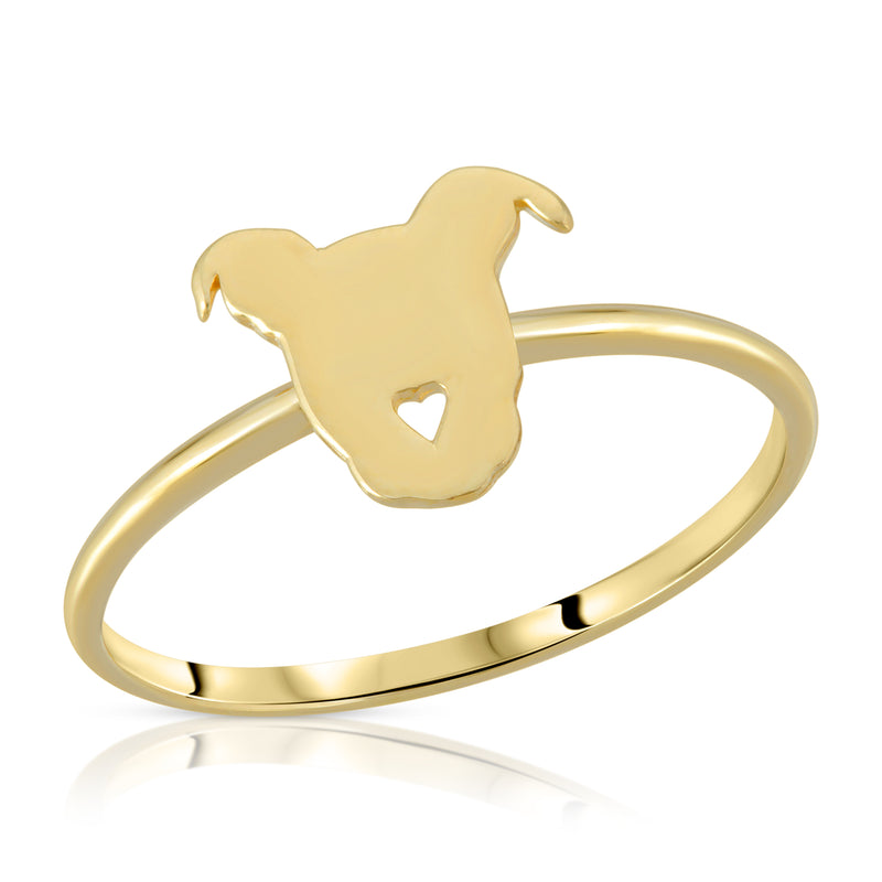 Pittie Love Ring