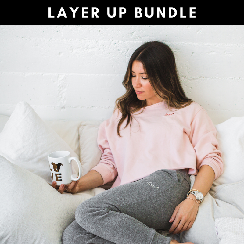 LAYER UP Bundle: Jogger + Sweatshirt