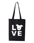 LOVE Canvas Tote | The Gentle Pit