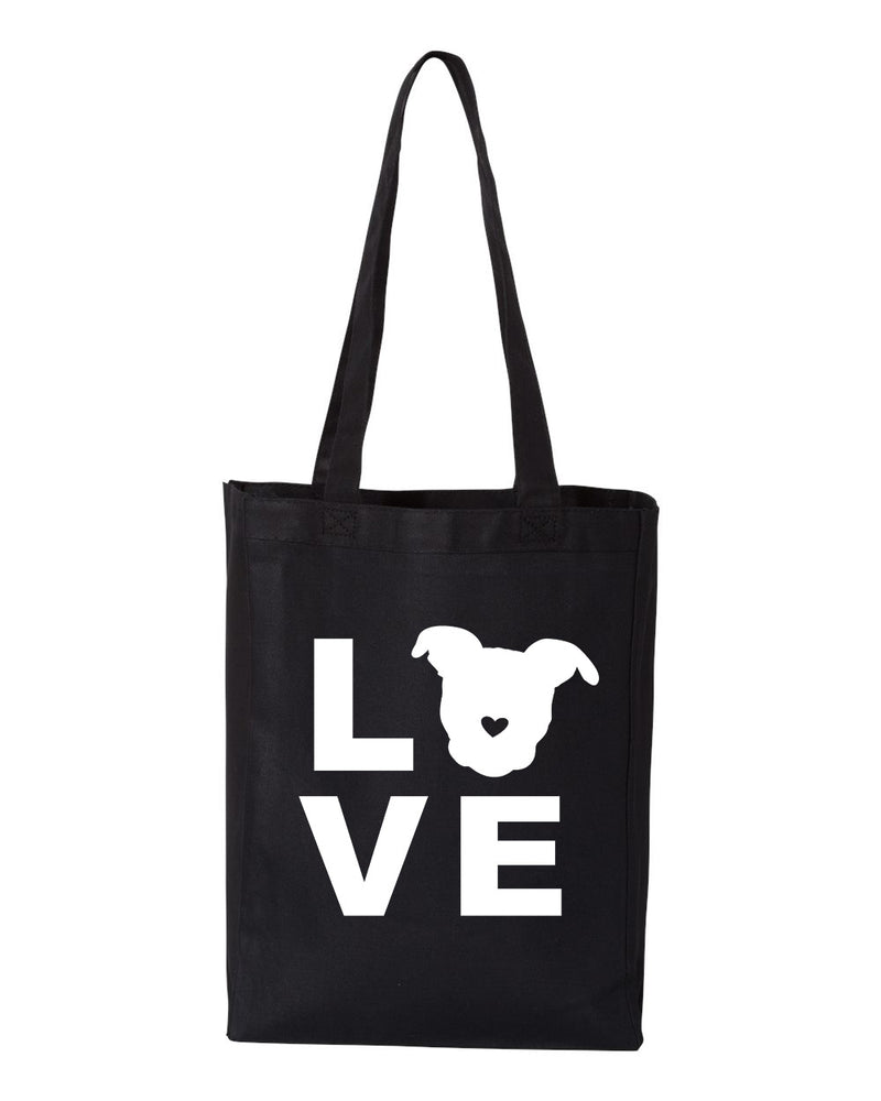 LOVE Canvas Tote