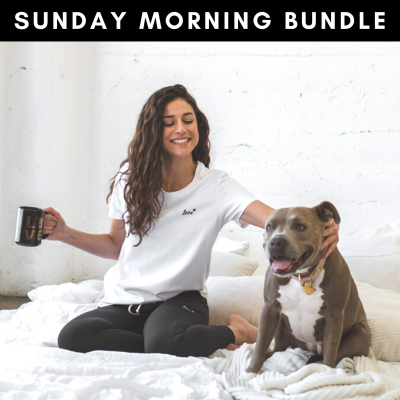 SUNDAY MORNING Bundle: Jogger + Tee