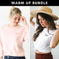 WARM UP Bundle : Sweatshirt + Tee