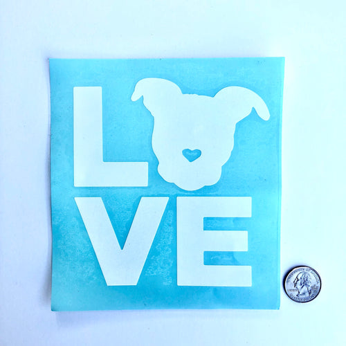 Transfer stickers for pit bull lovers and advocates | The Gentle Pit