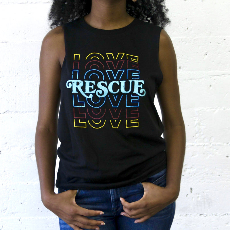 Love Rescue Muscle Tank