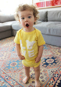 Baby Bodysuit // Yellow