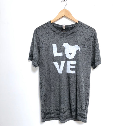 LOVE T-Shirt - Black Acid | The Gentle Pit