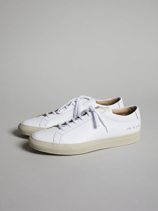 Common Projects Achilles Low, White / Off White