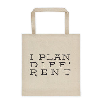 Plan Diff'rent Tote bag
