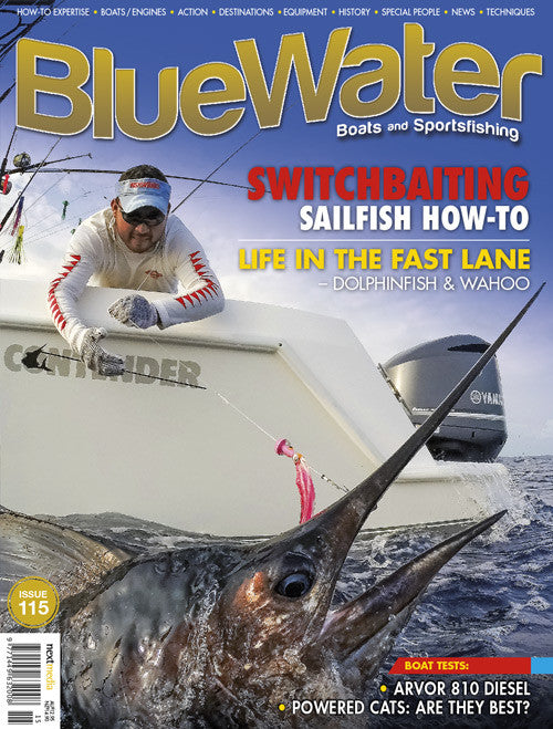 BlueWater magazine 12 month subscription NEW ZEALAND (Retail value $104.93)